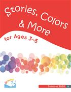 Growing in Grace and Gratitude Ages 3-5, Stories, Colors & More