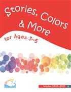 Growing in Grace & Gratitude Ages 3-5, Stories, Colors & More