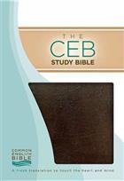 CEB Study Bible (Bonded Leather)