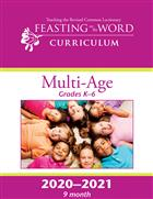 2020–2021 Multi-Age (Grades 1-6) 9 Months Printed Format