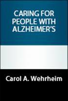 Caring for People with Alzheimer's
