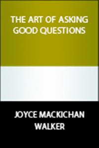 A guide to designing and asking good questions for leaders of Christian adult or ■youth Bible studies.