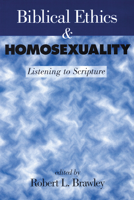 homosexuality in christianity essay