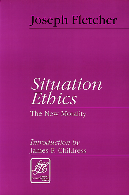 situation ethics essay Question paper 5  component 3: an introduction to religion and ethics   the bible offers clear moral advice for a variety of situations,.